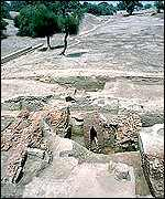 Harappan site in Pakistan